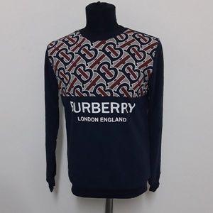 BURBERRY London New Design Logo Sweater Crewneck